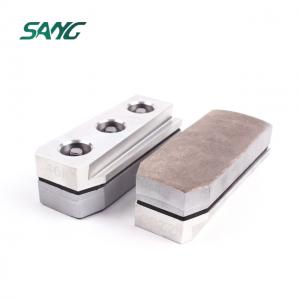 140mm metal bond  diamond fickert grinding block for granite abrasive tool plishing fickert for stone
