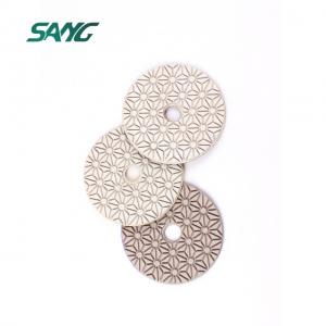 3 Step Diamond Polishing Pads Wet Dry for Granite Marble Engineered Stone Quartz
