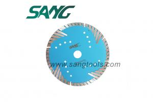 6 Granite & Marble Segmented Turbo Teeth Diamond Blade for Cutting Granite, Marble, Stone, Pavers, Concrete, Brick, Block, Stone, Tile and Masonry Materials.