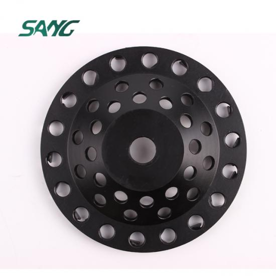 diamond cup wheel, V shape segment cup wheel, abrasive disc, arrow polishing pads
