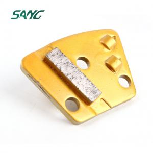 PCD scraper concrete plate with diamond segment for epoxy coating removal