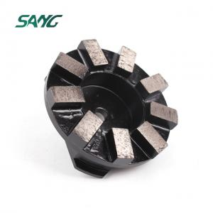 80MM stone metal grinding disc diamond concrete floor polishing pad