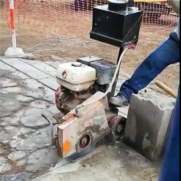 Testing about diamond saw blade for concrete